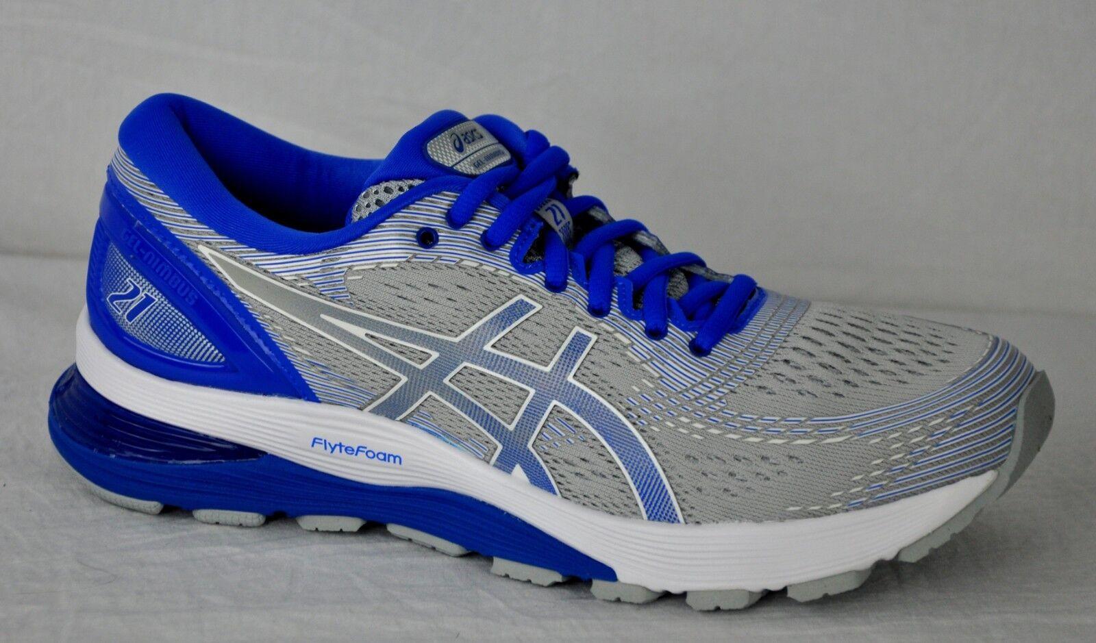 Asics Asics Asics de mujer Gel nimbus 21 Lite-Show Zapatos 1012A189 gris Medio ilusn azul SZ 11  60% de descuento