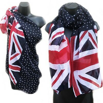 Hilfreich Union Jack & Star Print Uk British Flag Sarong Beach Cover-up Scarf Kaftan 158 Duftendes (In) Aroma