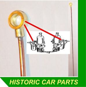 Details about 1 x Overflow Pipe for HV5 SU Carb on MG TA Midget