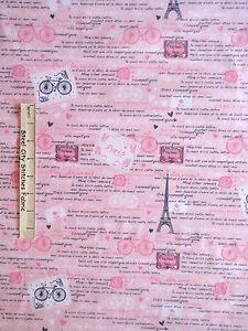 Paris-Fabric-Eiffel-Tower-France-French-Words-C3643-Timeless-Treasures-Yard