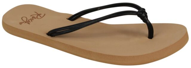 80990167d7f137 ROXY Girls  RG Lahaina Sandals Flat Flip-flop Black 12 M US Little ...