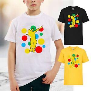 a865c3b368 New Kids Boys Girls Dab Spotty T-Shirt Children In Need Day Dabbing ...