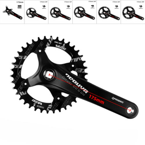Fahrrad MTB Kurbel Teile Abnehmbar Mountainbike Radfahren Kurbelgarnitur