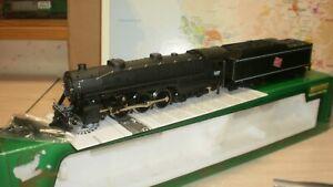 loco-vapeur-Hudson-class-F6A-Milwaukee-127-USA-Mehano-HO
