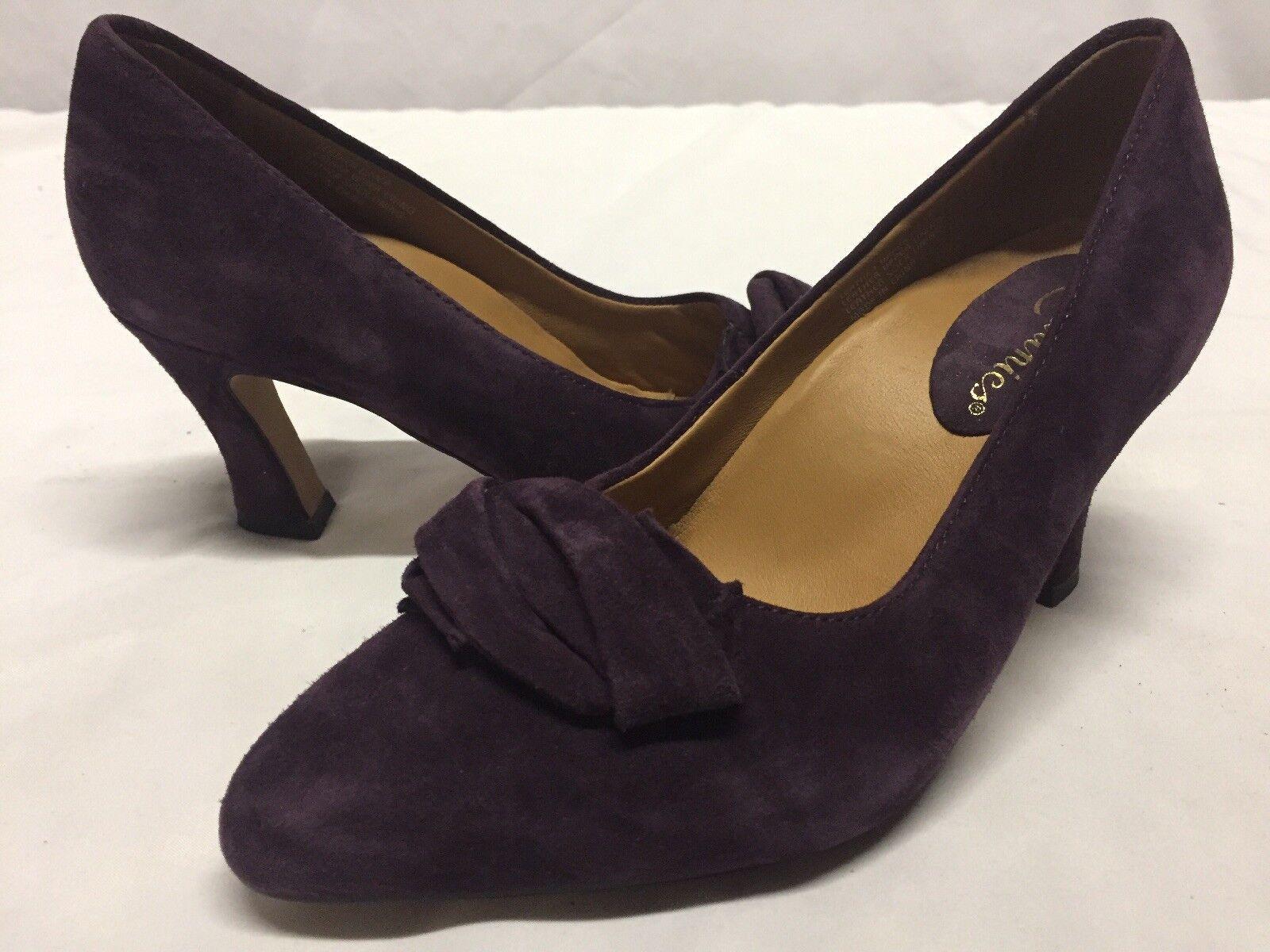 Earthies PRANTINI Women's Pumps shoes, Purple, Size 6 B  ...CONF2