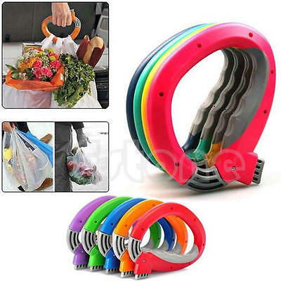 One Trip Grips Lock Labor Saving Tool Shopping Bag Grocery Holder Handle Carrier
