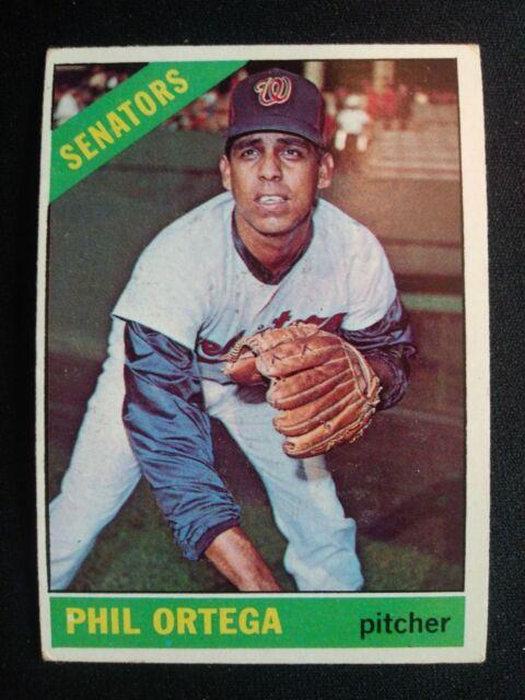 1966 Topps Baseball Card 416 Phil Ortega