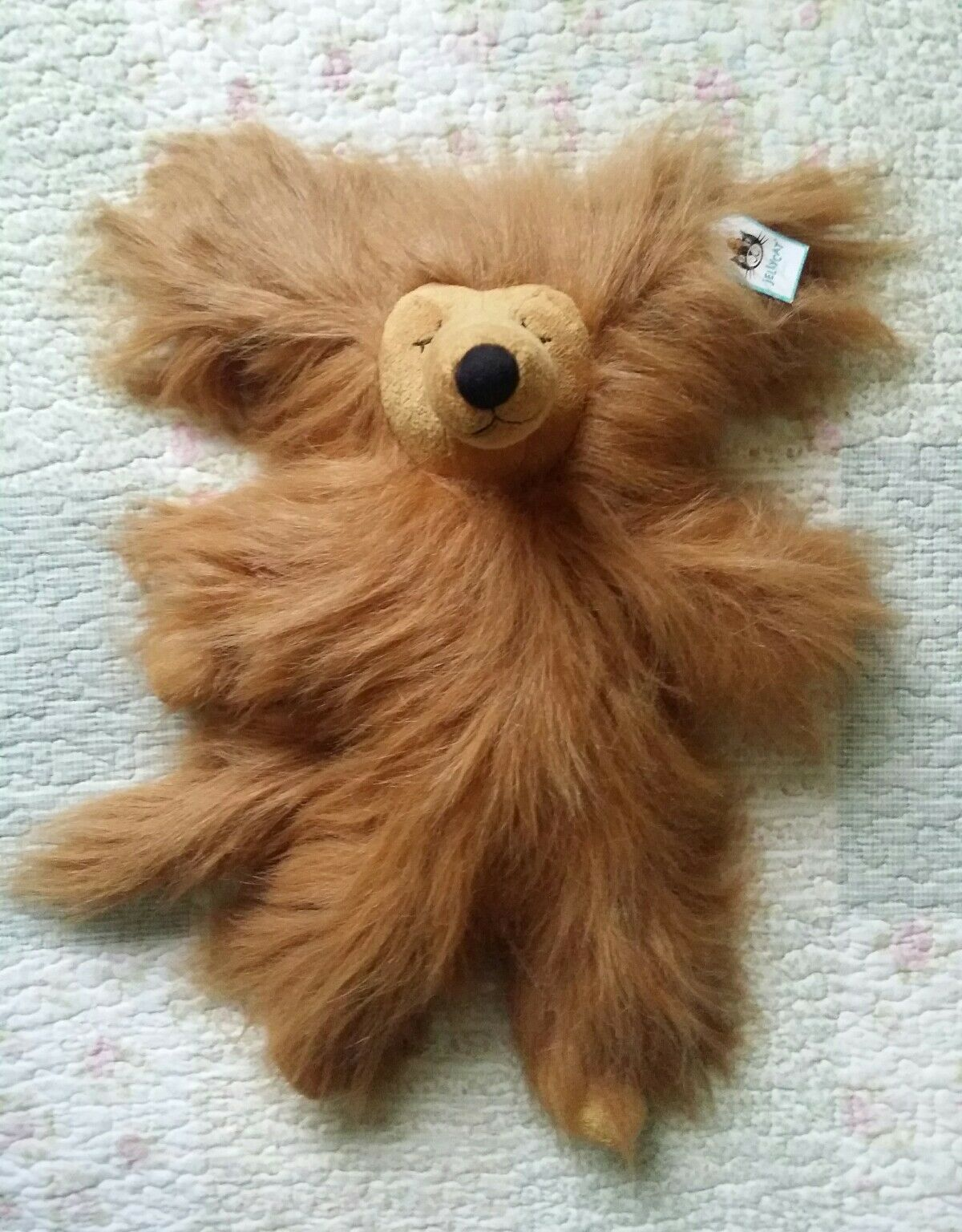 JELLYCAT ANNABEL AFGHAN DOG SOFT TOY BNWT Retired