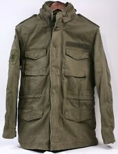 AEROPOSTALE M-65 Olive Green Canvas Military Army Field Jacket Coat Men Small S