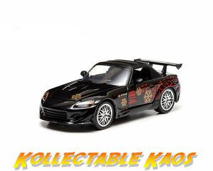 1-43-Greenlight-Fast-amp-Furious-2001-2000-Honda-S2000-Black-NEW-IN-BOX