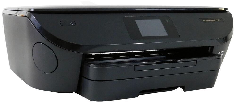 Open box HP Envy Photo 7155 All-In-One Wireless InkJet Printer.