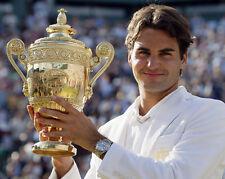 Roger Federer 10 x 8 UNSIGNED photo - P1254 - Grand Slam Tennis Champion