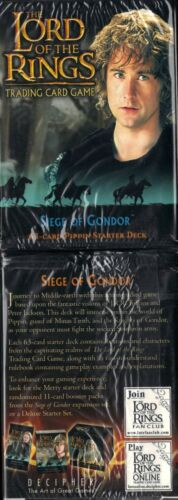 LOTR TCG Pippin Siege of Gondor Starter Deck Box Sealed  Lord of the Rings