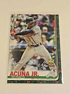 2019-Topps-Walmart-Holiday-Baseball-Base-Card-Ronald-Acuna-Jr-Atlanta-Braves