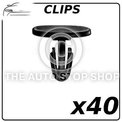 gamme 4//5 Série Pack De 12 12654bm Clips portes pannels 8 mm BMW série 3