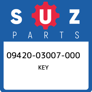 09420-03007-000-Suzuki-Key-0942003007000-New-Genuine-OEM-Part
