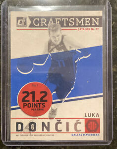 LUKA-DONCIC-CRAFTSMAN-INSERT-SP-2019-20-DONRUSS-BASKETBALL-DALLAS-MAVERICKS