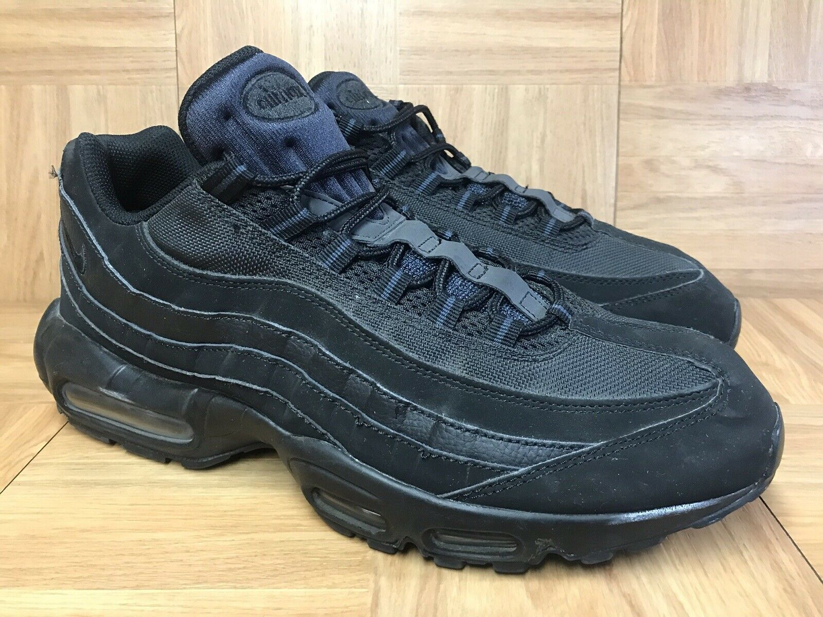 RARE Nike Air Max '95 Black Anthracite Blackout Sz 13 609048-092 Running shoes