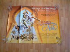 'THE JEWEL OF THE NILE' Original British Quad Movie Poster