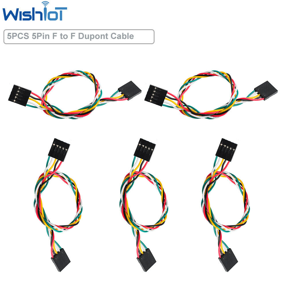 5pz Dupont Cable Female Female 4 Pin Poly Jumper Jumper Flexible Cable