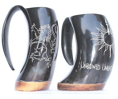 Game of thrones HBO Large Big 1000 ml Drinking Horn Mugs For Beer Wine Mead Ale