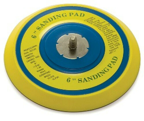 """6/"""" Round  Sanding Pad Extra Thick For D//A Sander TI19226 Fits most Brand"""
