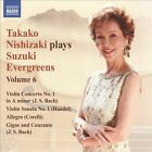 Takako Nishizaki Plays Suzuki Evergreens, Vol. 6 (CD, Apr-2010, Naxos (Distributor))