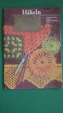Häkeln Band 7 Verlag für die Frau DDR Handarbeit Anleitung Zeitschrift 1980