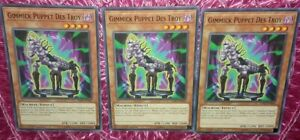 Gimmick Puppet Des Troy LED5-EN041 Common Yu-Gi-Oh Card 1st Edition New