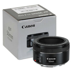 Canon-EF-50mm-f-1-8-STM-Lens-in-ORIGINAL-RETAIL-BOX