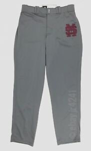 874926d2 Details about New Adidas Men's L Mississippi State Diamond King 2.0 Open  Hem Baseball Pant