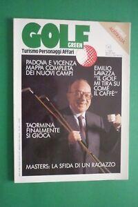 GOLF GREEN N.4/1991 EMILIO LAVAZZA PHIL MICKELSON PICCIOLO GOLF CLUB TAORMINA - Italia - GOLF GREEN N.4/1991 EMILIO LAVAZZA PHIL MICKELSON PICCIOLO GOLF CLUB TAORMINA - Italia