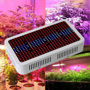 400w led plant grow lampe wachsen licht ir uv full spectrum pflanzen blume light ebay. Black Bedroom Furniture Sets. Home Design Ideas