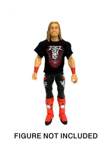 WWE Edge /'You Know Me/' Rated R Superstar Custom Shirt For Mattel Figures.