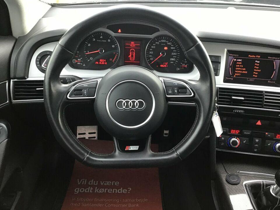 Audi A6 2,0 TFSi 170 Benzin modelår 2010 km 186000 Sortmetal