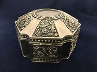 Metal Jewelry Gift Box - 6039s