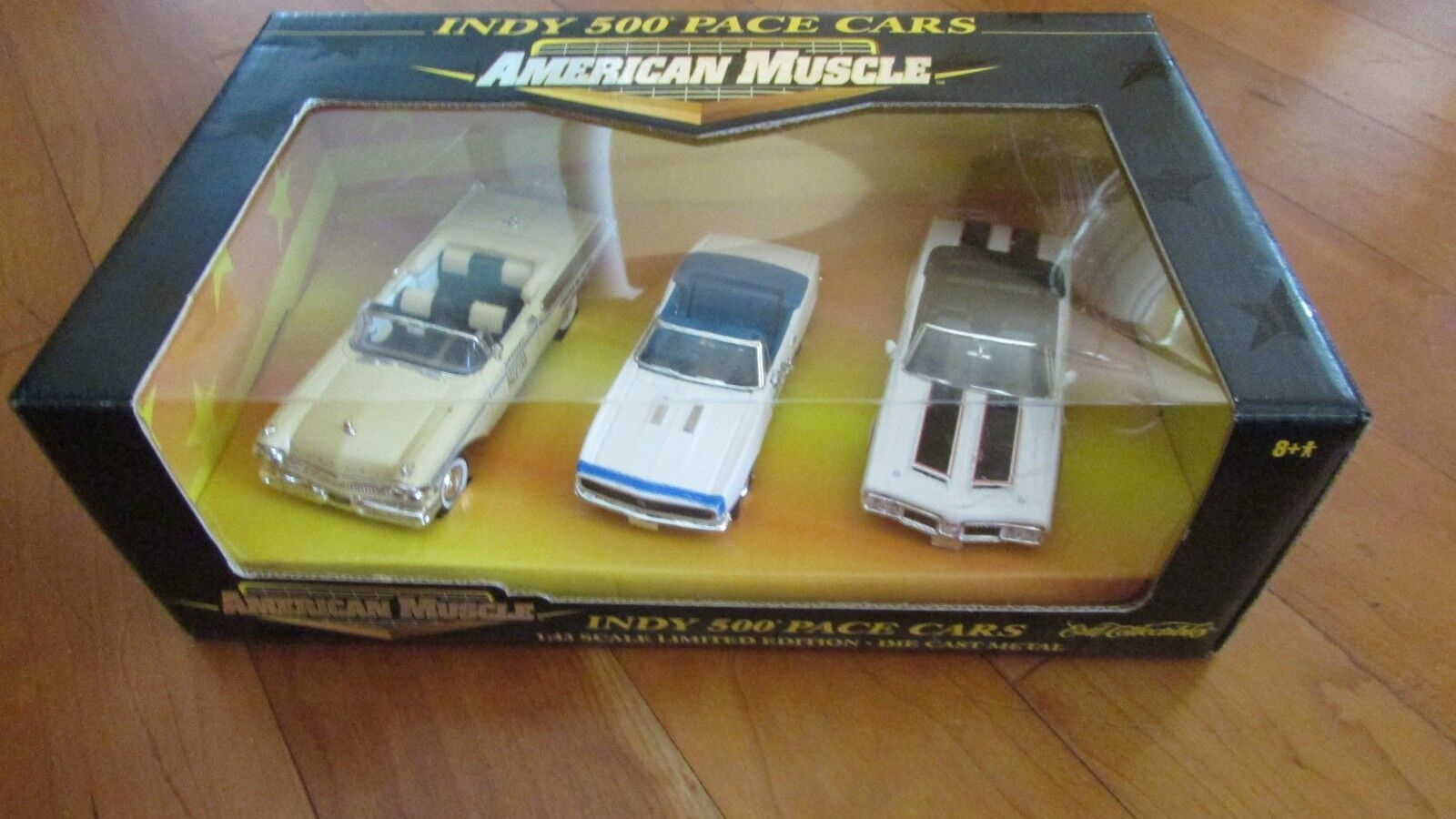Ertl 1 43 American Muscle Indy 500 Pace cars 3 voiture Set Camaro Mercury Oldsmobile