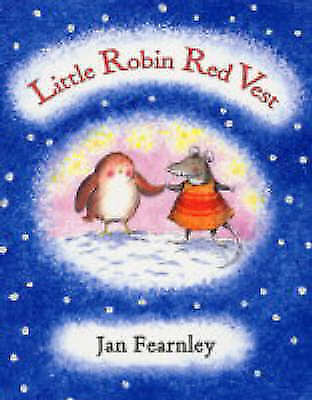 1 of 1 - Little Robin Red Vest, Fearnley, Jan, Good Condition Book, ISBN 9781405215855