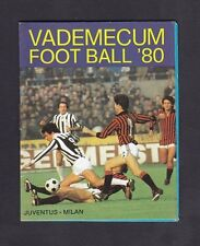 CALENDARIETTO 1980 VEDEMECUM FOOT BALL - CALCIO SPORT PARTITE Torino-Avellino ec