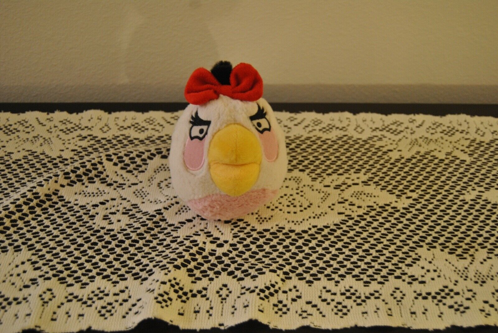Angry Bird White Bird with  5  Commonwealth Plush toy