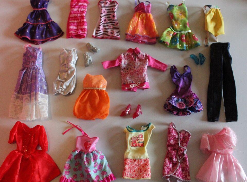 Barbie, Tøj pakke