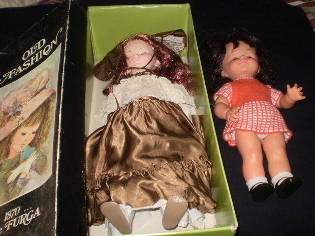 2  bambole   FURGA Matilde e Sebino Michela  Spedizione gratuita al 100%