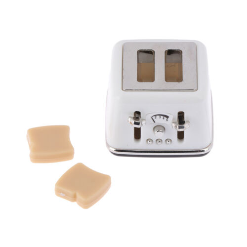1//12 Scale dollhouse bread machine with toast miniature cute decor Toaster In  P