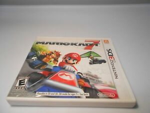 Details about Mario Kart 7 (Nintendo 3DS) w/case & manual 2ds xl game