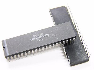 50Pcs CDP1802ACE IC CMOS 8-Bit Microprocessors Intersil Corporatio DIP-40