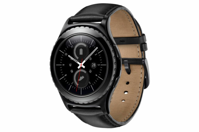 Samsung Gear S2 Classic 40mm Black Stainless Steel Case (SM-R7320)
