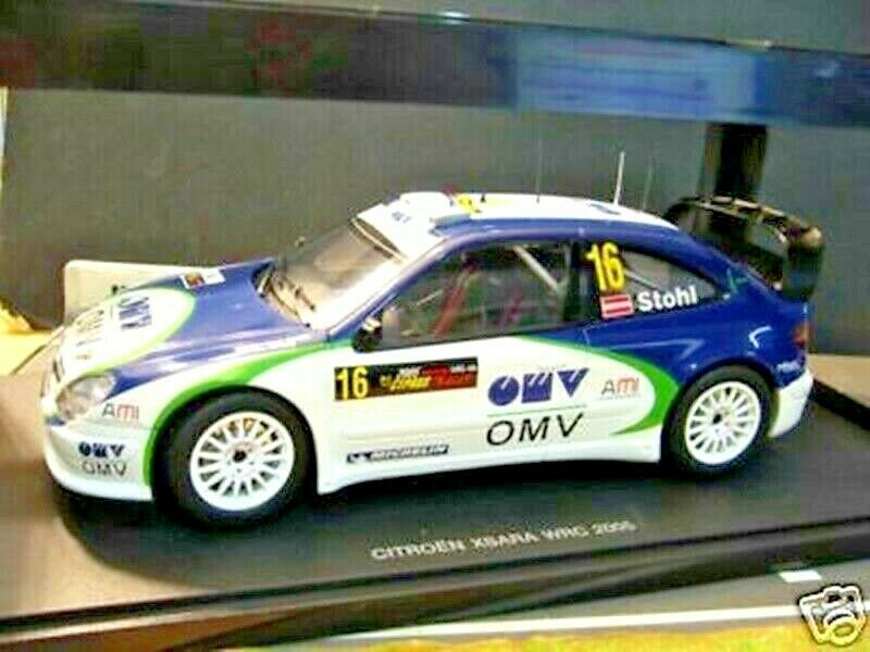 CITROEN XSARA WRC RALLY  16 Stohl Cipro 2005 Cyprus WM OMVS AA Autoart RAR 1 18
