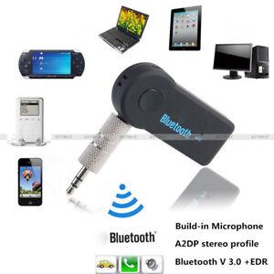 3.5mm Wireless USB Mini Car Bluetooth Music Receiver Adapter 1.5m Audio Lead