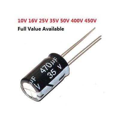 Condensatori chimici//elettrolitici 1000uF 6.3V