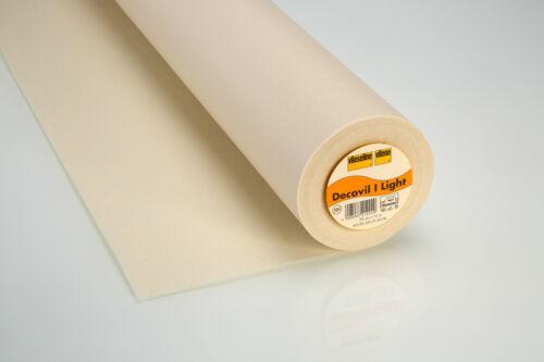 15m Decovil I Light 90cm Wide Taschenverstärker Vlieseline Beige